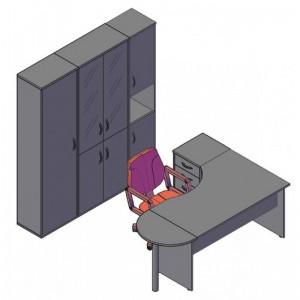Оперативная мебель IMAGO Комбинация №1