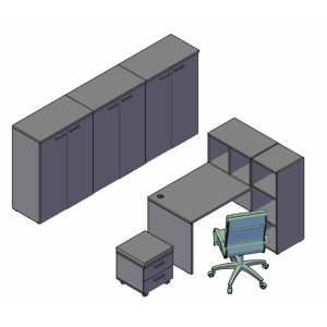 Оперативная мебель XTEN Комбинация №1