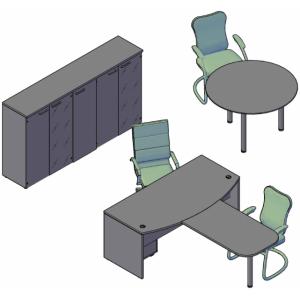 Оперативная мебель XTEN Комбинация №3